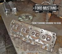 cylinder head teardown- Ford Mustang