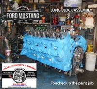 assembling long block ford 289