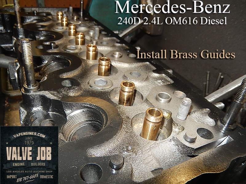 Mercedes 240D Diesel Valve Job