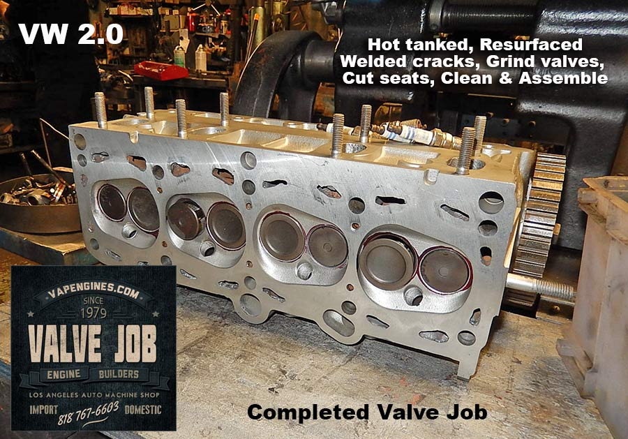 VW 2.0 Valve Job cylinder head repair