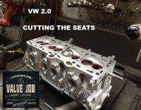 cutting seats VW 2.0 cylinder head