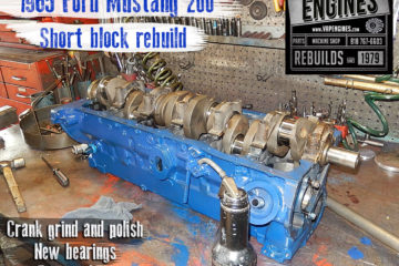 65 Ford Mustang 200 I6 Remanufactured engine
