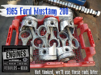 65 Ford 200 old pistons