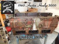 1960 Austin Healy engine block