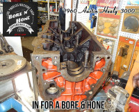 Austin Healy 3000 engine block