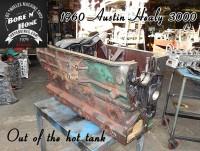Hot tanked Austin Healy block