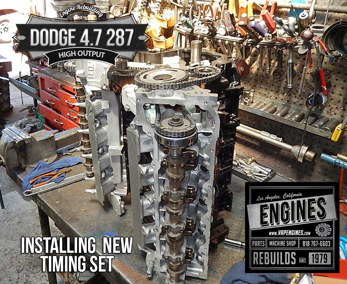 Dodge 4.7 High Output remanufactured engine