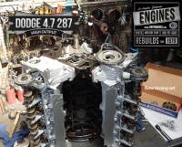 Install timing set on Dodge 4.7 engine rebuild