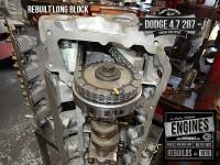 Timing marks on rebuilt Dodge 4.7 HO engine
