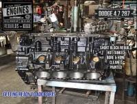 Dodge 4.7 287 engine block