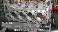 Dodge 4.7 HO cylinder head valve job