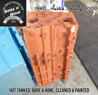 painted Austin Healy block