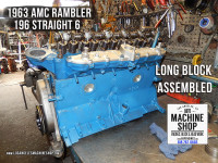 Rebuilt long block AMC Rambler 196