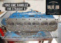 completed AMC Rambler valve job