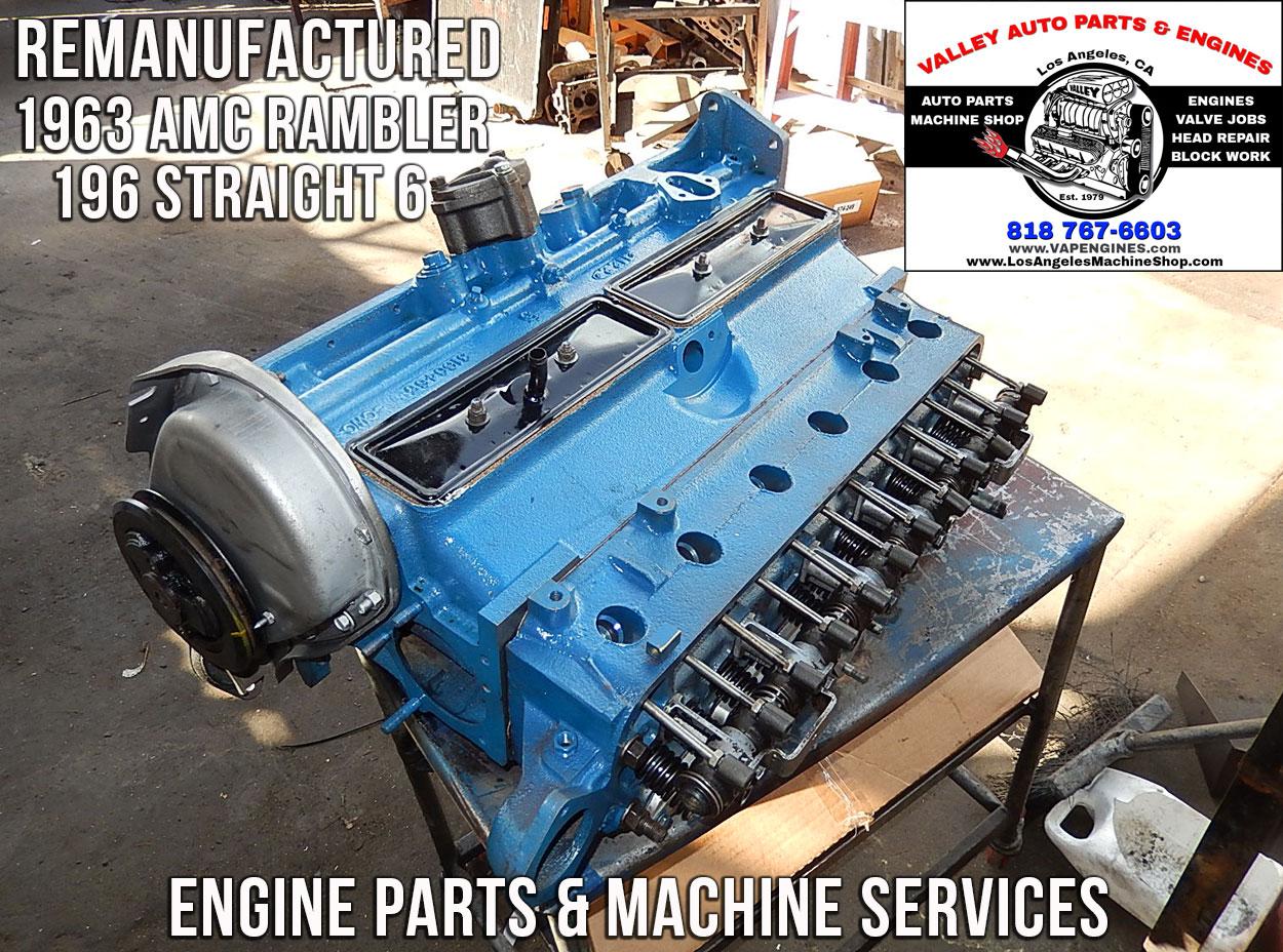 Amc Rambler Engine Rebuild N Parts