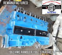 rebuilt 1963 AMC Rambler long block engine