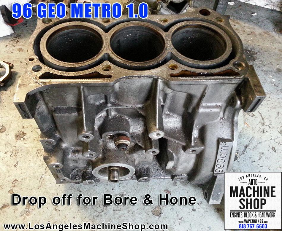 96 Geo Metro G10 1 0 Block  U0026 Head Repair