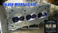 After valve job shot- Geo Metro