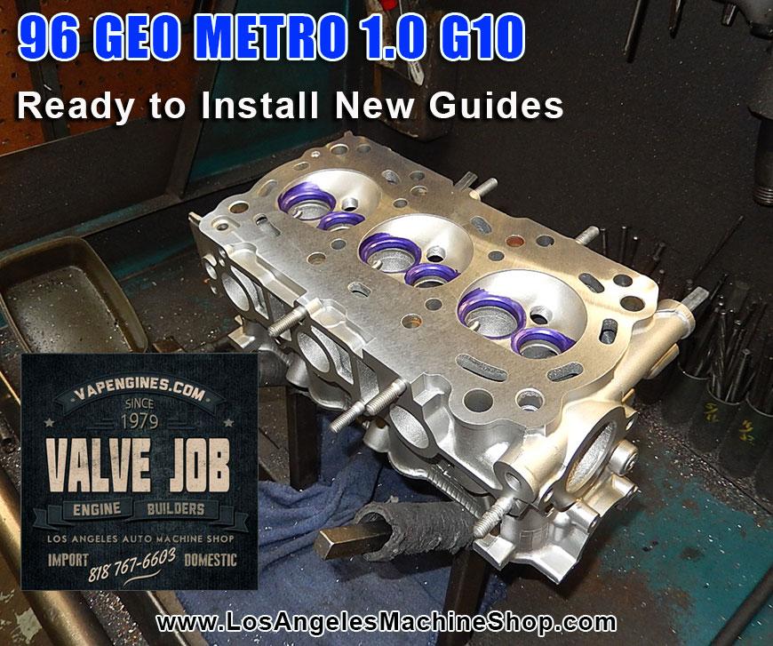 Service Manual  How To Fix 1992 Geo Metro Valve