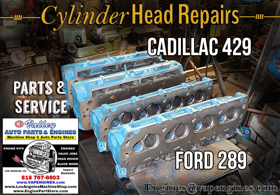 Cylinder head repair shop in Los Angeles
