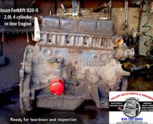 Nissan Forklift H20-II 2.0L Remanufactured Engine