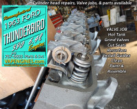 Rebuilt Ford 390 cylinder head