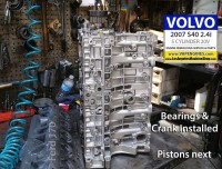 Volvo S40 short block rebuild