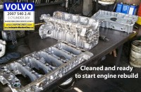 Volvo cleaned parts