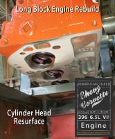 cylinder head resurface chevy 396