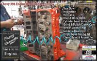 Long Block Engine Rebuild Chevy 396