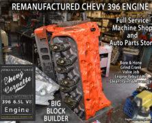 65 Big Block Chevy 396 Remanufactured Engine