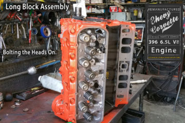 65 Big Block Chevy 396 Remanufactured Engine