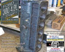 Ford 300 4.9L Block Work