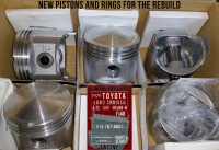 toyota fj40 4.2 piston set
