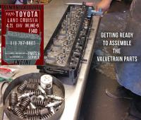 Valve Job Toyota 4.2 cylinder head