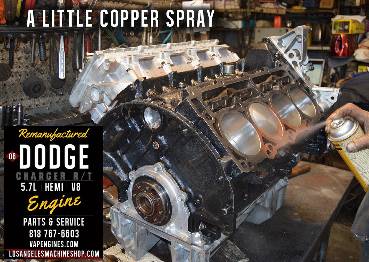 06 Dodge Charger Hemi 5.7 Engine Rebuild - Los Angeles ...