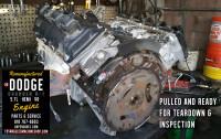 dodge hemi 5.7 pulled engine