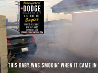 dodge hemi smoker