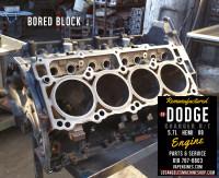 dodge 5.7 block