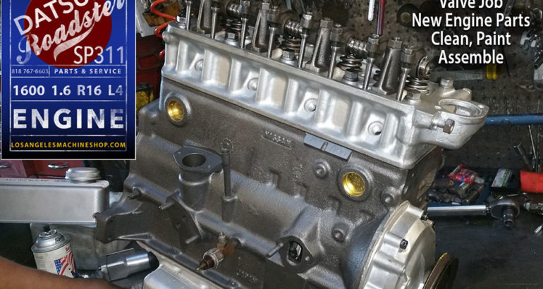 Nissan Datsun Roadster 1600 SP311 1.6L R16 Engine Rebuild