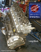 Rebuilt Datsun Roadster SP311 R16 Engine