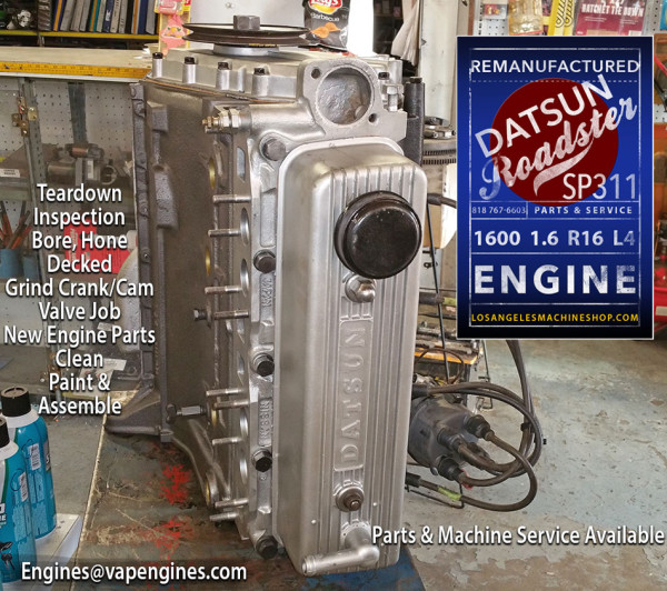 Engine Rebuild Shop Datsun 1600