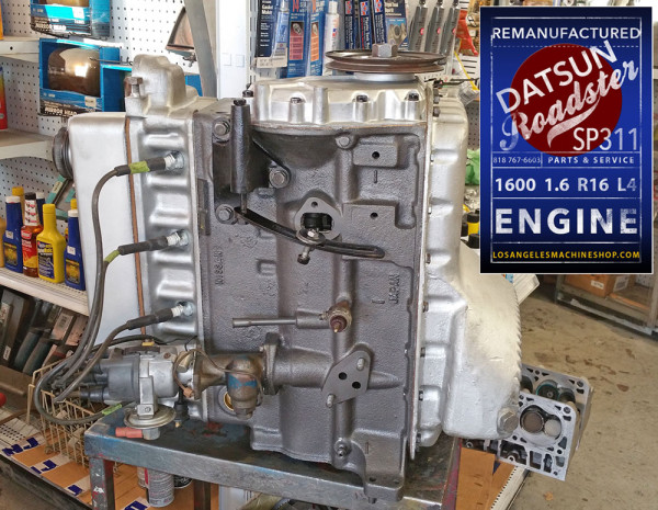 Reman Datsun 1600 .6 engine