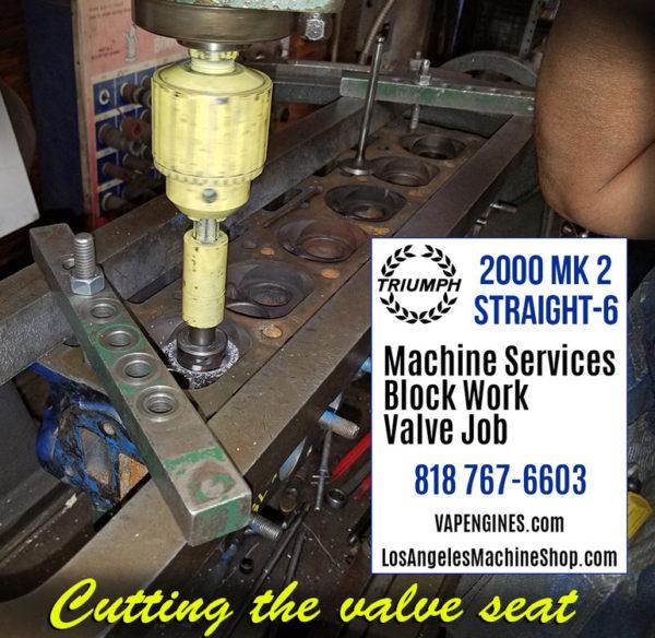 cut seats triumph cylinder head