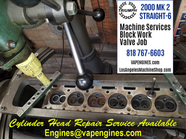 triumph 2000 cylinder head repair