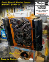 dodge 318 engine repair shop