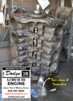 dodge 318 engine inspection