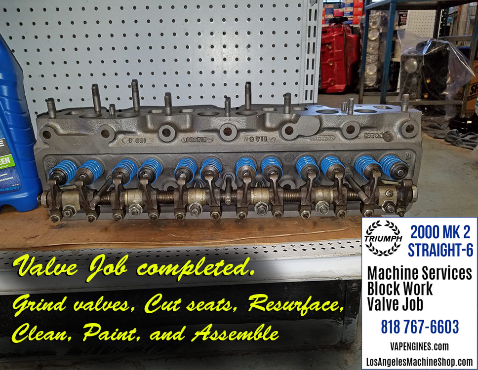 Triumph 2000 Mk 2 Straight-6 Machine Shop Services