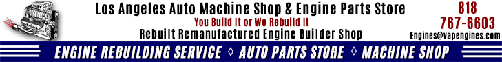 Los Angeles Auto Machine Shop banner