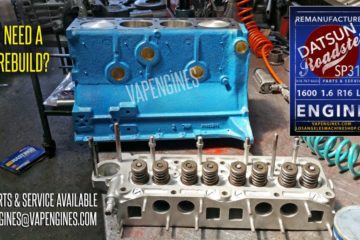 Rebuilt Datsun 1600 1.6 Engine